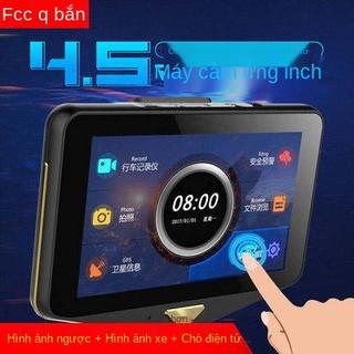 Touch HD, ghi âm lái xe, bắn đôi, với tốc độ chó điện tử, đảo chiều radar, hình ảnh, máy tích hợp con chó mây, thumbnail