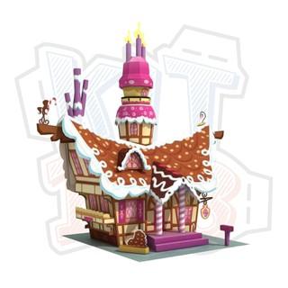 Mô hình giấy Sugarcube Corner – My Little Pony