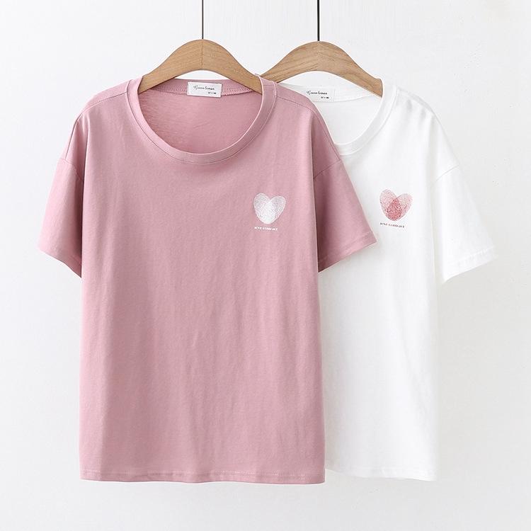 vớ cotton họa tiết trái tim xinh xắn dành cho b