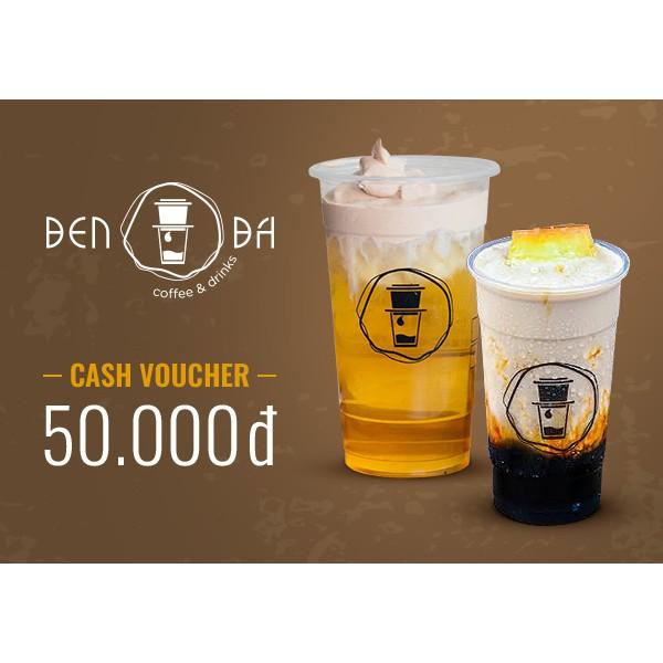 Hồ Chí Minh [E- Voucher] - Phiếu quà tặng Cà Phê Đen Đá 50k