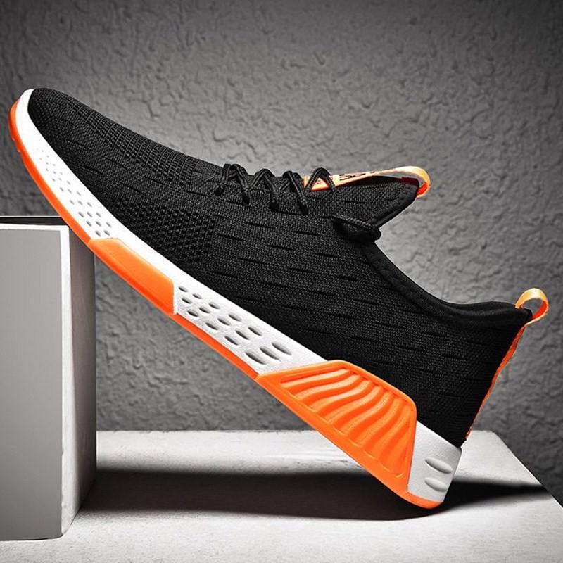 Giày sneakers nam vải sợi thoáng khí 175