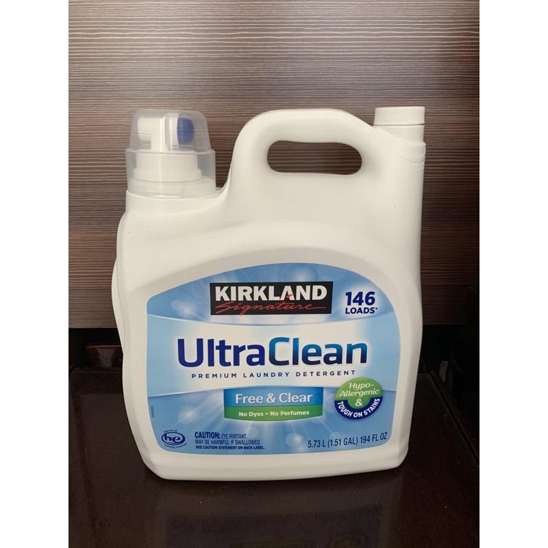 [Mã 267FMCGSALE giảm 8% đơn 500K] Nước giặt ultra clean kirkland mỹ 5.73L