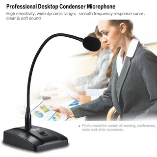 Microphone để bàn hội nghị có dây có thể tháo rời với cáp 10ft XLR