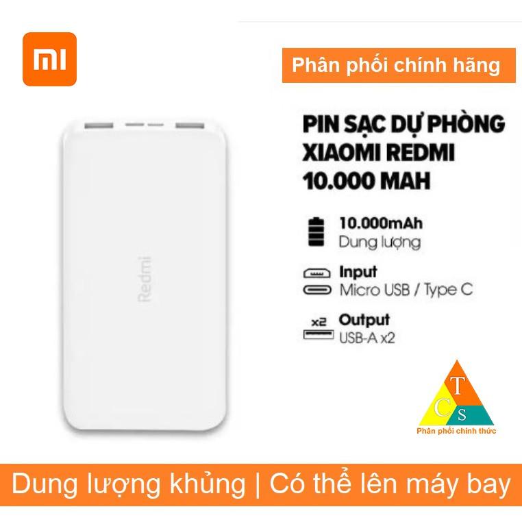 Pin sạc dự phòng Xiaomi Redmi 10000MAH PB100LZM