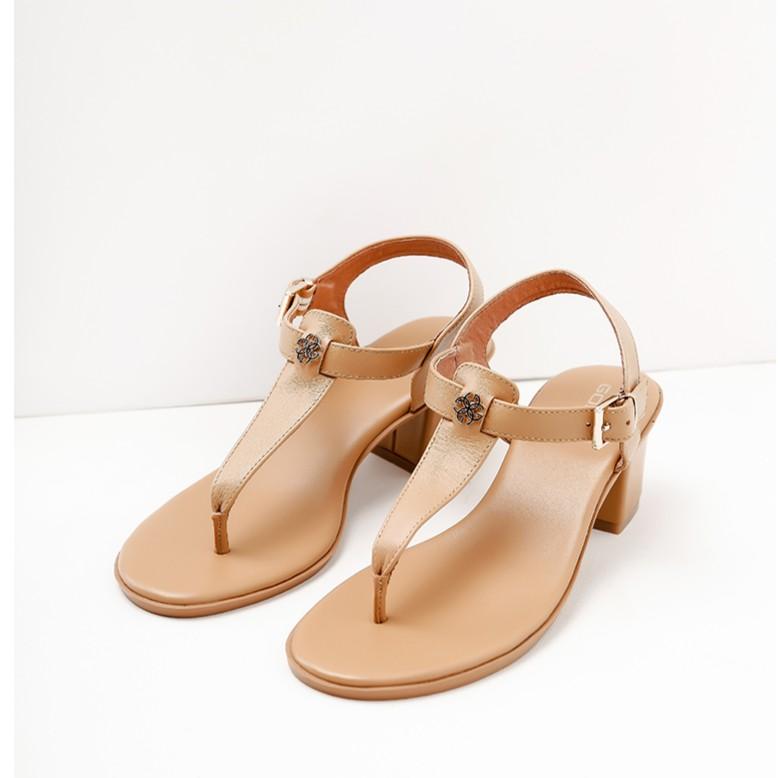 Sandal Da Thật Gosto 5 Phân LOVE STRUCK - GDW022500BRO