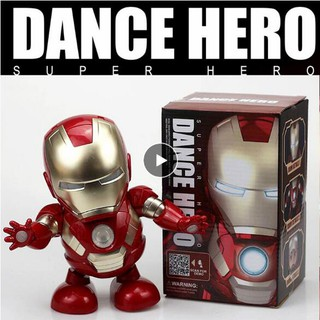 Đồ chơi mô hình nhân vật người sắt có đèn LED thumbnail