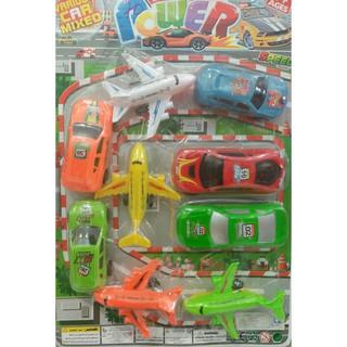 Combo 9 xe và máy bay
