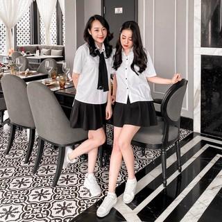 [Mã WAAUG giảm 15% đơn 99k] Chân váy xòe nữ Umi Goo Studio không nhăn co giãn nhẹ