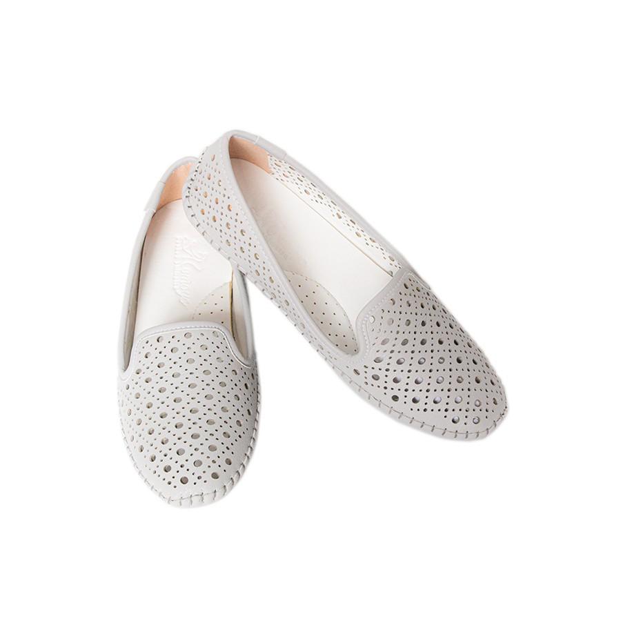 Giày Nữ Búp Bê Da MicroFiber Siêu Nhẹ Tomoyo TMW21400