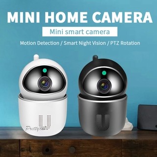 [PRETTYIA1]Home WiFi Camera 1080P Cloud IP Security Camera Wireless Activity Alert Auto Tracking