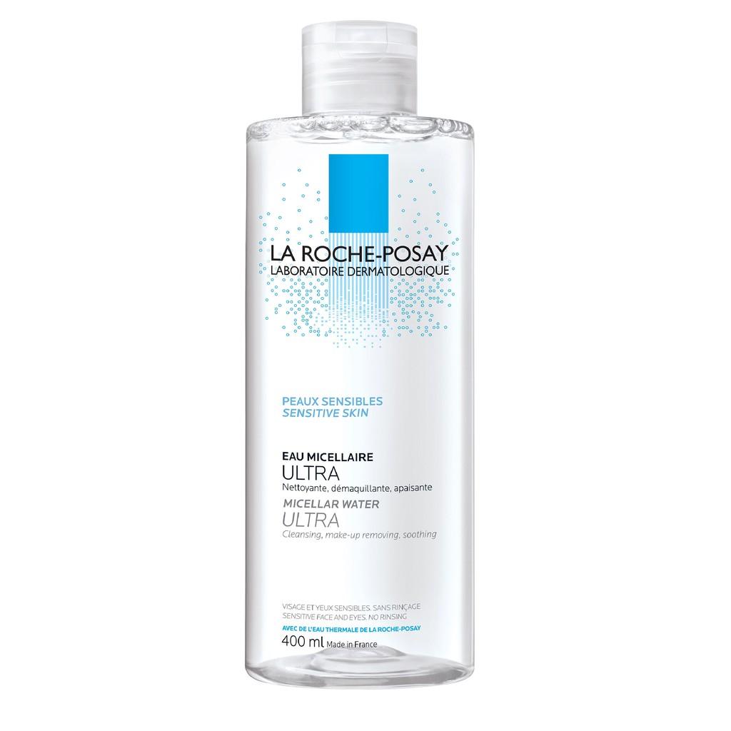 Nước Tẩy Trang LA ROCHE-POSAY Micellar Water Ultra Sensitive Skin 400ML  CHÍNH HÃNG PHÁP cho da nhạy cảm tặng sample | Shopee Việt Nam
