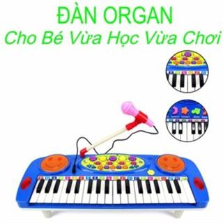 Đàn Organ điện tử kèm micro cho bé thumbnail