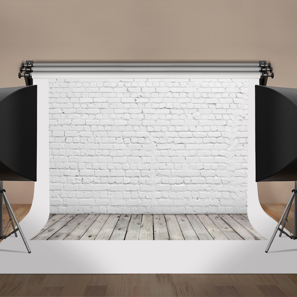 Old White Brick Wall Background Photo Backdrop Photography Background Studio Shooting Props