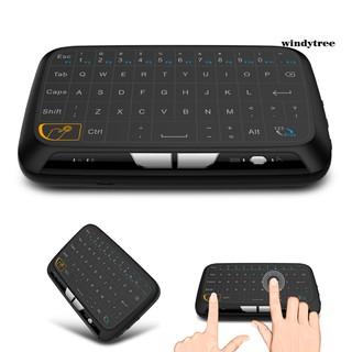 (& T) Bàn Phím Không Dây Mini H18 2.4ghz Cho Pc Laptop Smart Android Tv thumbnail
