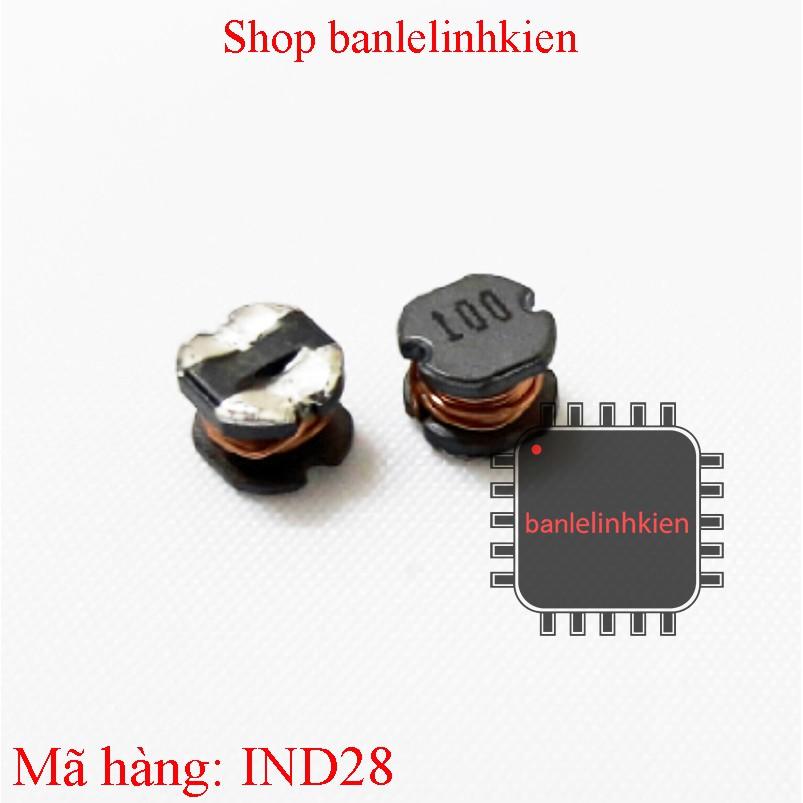 Cuộn cảm 10uH CD54 5x5x4mm chân dán (túi 5c)