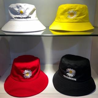 Mũ ( Nón ) bucket hoa cúc bèo [ sỉ bằng lẻ - ảnh và video quay chụp 100%]