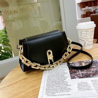 Túi Xách Nữ Xu Hướng Mới Túi Đeo Vai thời trang thiết kế đơn giản phối dây chuyền Sang Chảnh Siêu Đẹp thumbnail