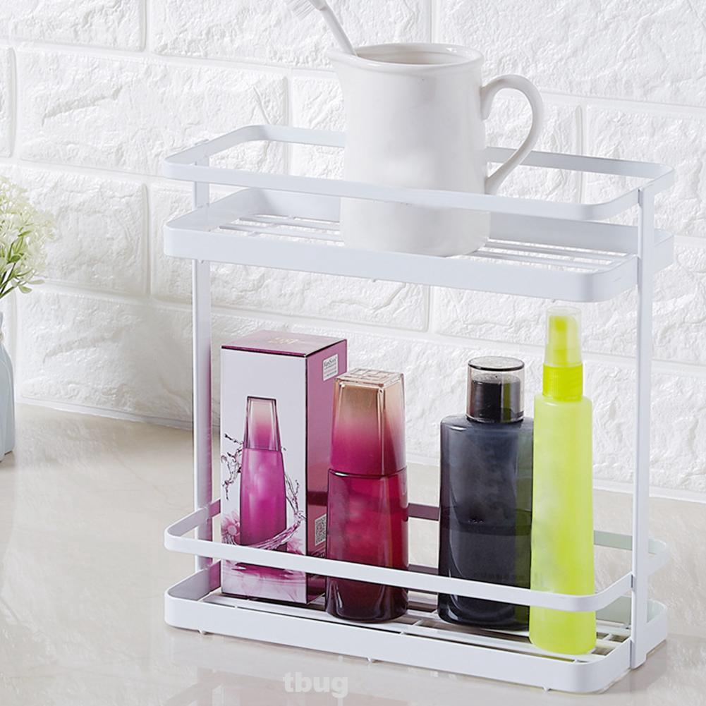 Rack Bathroom Storage Durable Home Household Organizer Portable Shelves Practical Universal