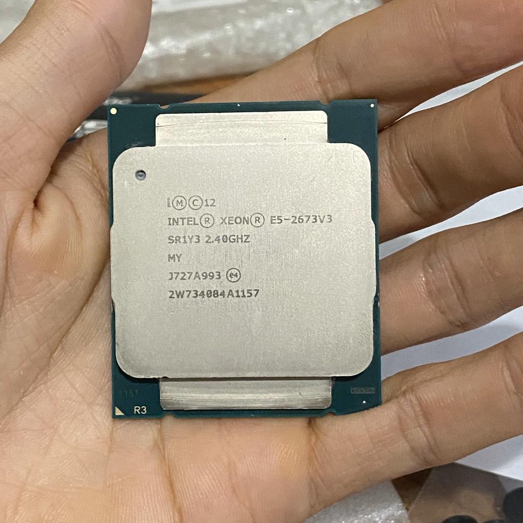 CPU Intel Xeon E5 2673v3 - E5 2678v3 12 nhân 24 luồng siêu mạnh ~ i7 9700f - Socket 2011v3 ( X99 ) | Shopee Việt Nam