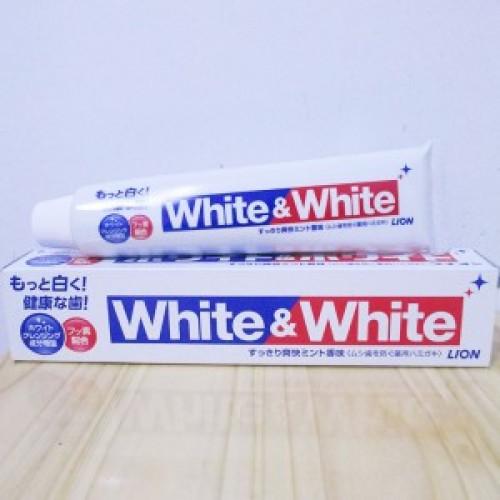 Kem đánh răng người lớn White & White 150g Hàng Nhật Chính Hãng