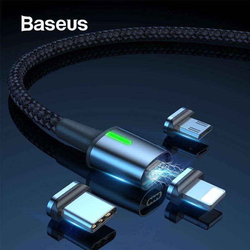 Cáp sạc từ tính Baseus Zinc Magnetic [new]- Bảo Hành 12 tháng