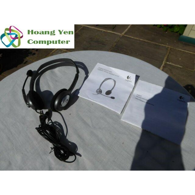 Tai Nghe Chụp Tai LOGITECH H111 Cho Laptop, Smart Phone (1 Jack 3.5mm) - BH 2 Năm Chính Hãng