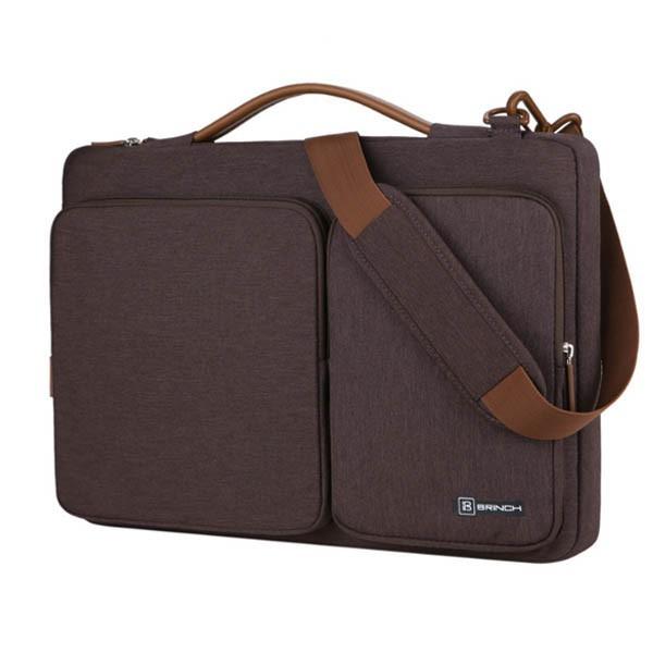 Túi Đeo Brinch Cao Cấp Cho Macbook 13/15 Màu Nâu (T092) Giá chỉ 450.000₫