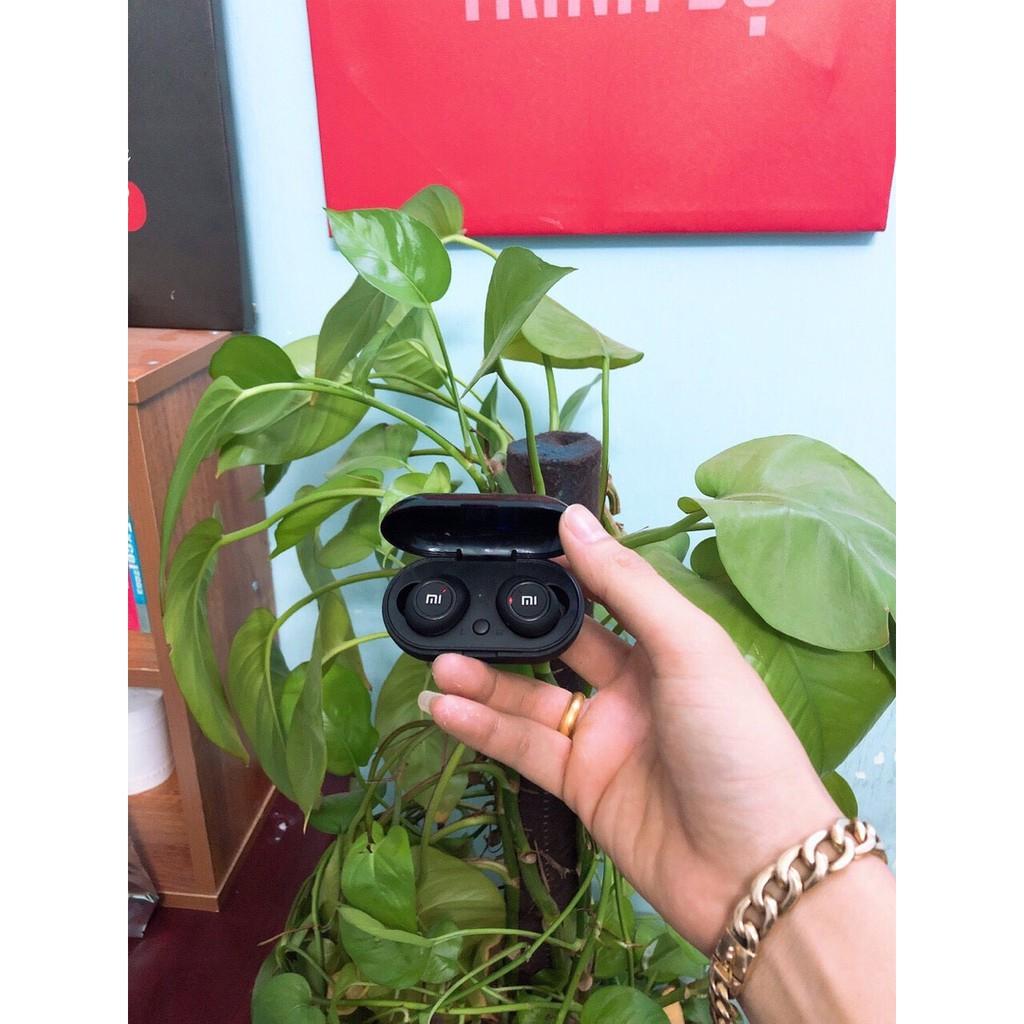 Tai Nghe Bluetooth AirDots Redmi2 Đen True Wireless Công Nghệ 5.0 Kèm Đốc Sạc ,Cảm Biến Tự Động Kết Nối