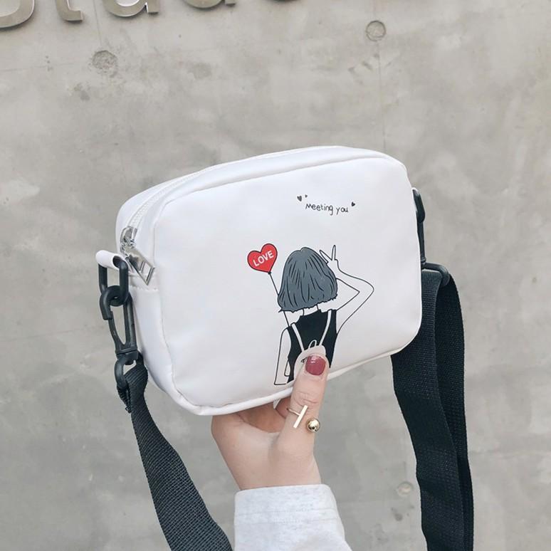 Túi hộp mini nhỏ đeo chéo giá rẻ da mềm, túc xách nữ công sở TXN54-C Loại 1