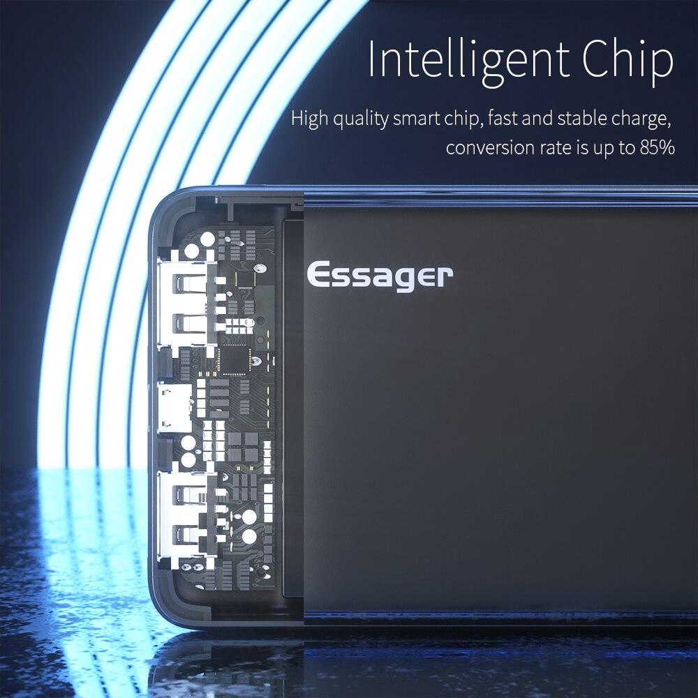 Sạc dự phòng Essager dung lượng 10000 MAh cho Xiaomi Oppo IPhone