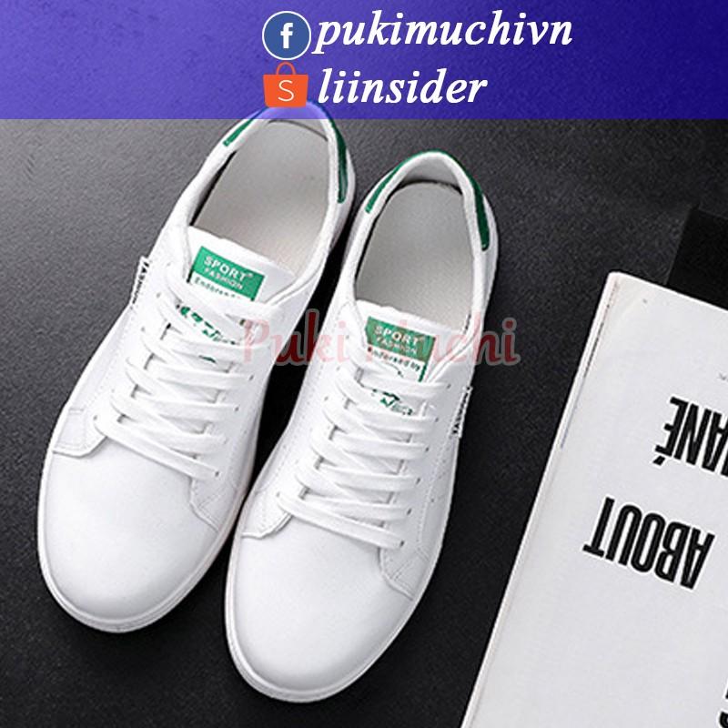 Giày thể thao nam cổ thấp màu trắng gót Đen - Trắng - Xanh thoáng khí da PU mẫu mới 2017 giá tốtc - 2419004 , 725364128 , 322_725364128 , 298000 , Giay-the-thao-nam-co-thap-mau-trang-got-Den-Trang-Xanh-thoang-khi-da-PU-mau-moi-2017-gia-totc-322_725364128 , shopee.vn , Giày thể thao nam cổ thấp màu trắng gót Đen - Trắng - Xanh thoáng khí da PU mẫu m