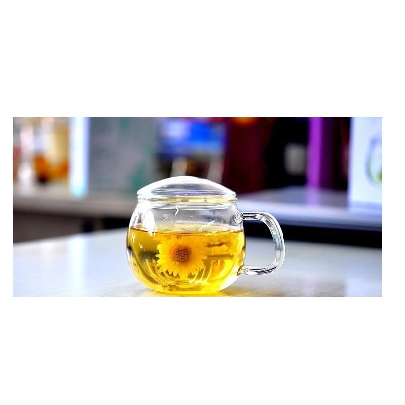 Cốc pha trà thủy tinh có lõi lọc 02 - 300ml
