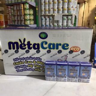 Sữa bột pha sẵn Metacare Eco nhãn xanh x 110ml