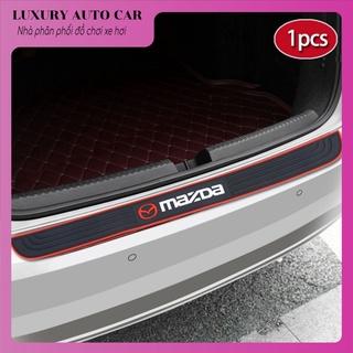 (Nẹp cốp sau xe) Tấm Đệm Cao Su Bảo Vệ Cốp Xe Ô Tô Mazda 2 3 6 Cx3 Cx thumbnail