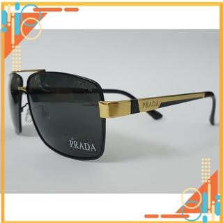 Kính mát thời trang Prada gọng vàng – Chống tia UV400 [FREE SHIP]