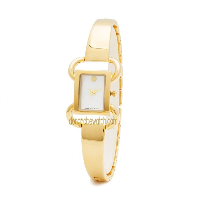 Đồng hồ nữ Babila BA245 dây kim loại vàng - 2413646 , 101481721 , 322_101481721 , 999000 , Dong-ho-nu-Babila-BA245-day-kim-loai-vang-322_101481721 , shopee.vn , Đồng hồ nữ Babila BA245 dây kim loại vàng