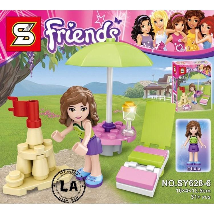 MIỄN PHÍ VẬN CHUYỂN ĐƠN 99K - Lego - Đồ chơi xếp hình Lego Friends Kì nghỉ hè của Olivia SY628-6 - 3