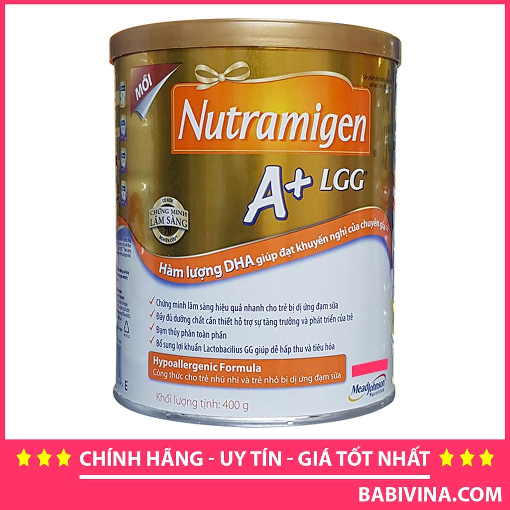 Sữa bột Nutramigen A+ - hộp 400g (dành cho trẻ từ 0 - 12 tháng)