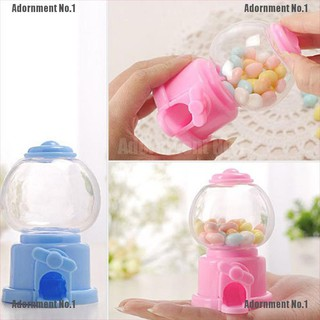 [AdornmentNo1] Mini sweet kids candy machine bubble gumball dispenser baby gift toys cute