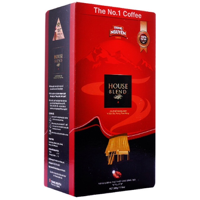Cà phê rang xay House Blend Trung Nguyên 500g (Caffein:1%) - 2482672 , 678163388 , 322_678163388 , 105000 , Ca-phe-rang-xay-House-Blend-Trung-Nguyen-500g-Caffein1Phan-Tram-322_678163388 , shopee.vn , Cà phê rang xay House Blend Trung Nguyên 500g (Caffein:1%)