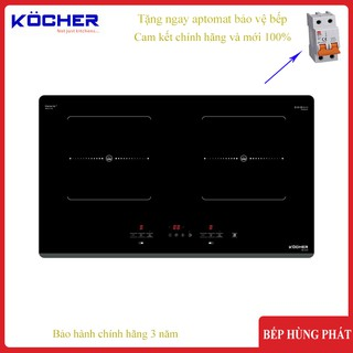 Bếp từ đôi Kocher DI-633 Chế độ nấu liu riu