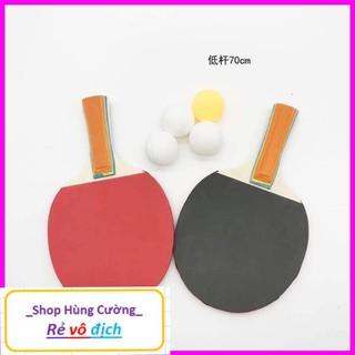 Bộ Đồ Chơi Bóng Bàn Phản Xạ cho bé ( vợt gỗ loại 1)