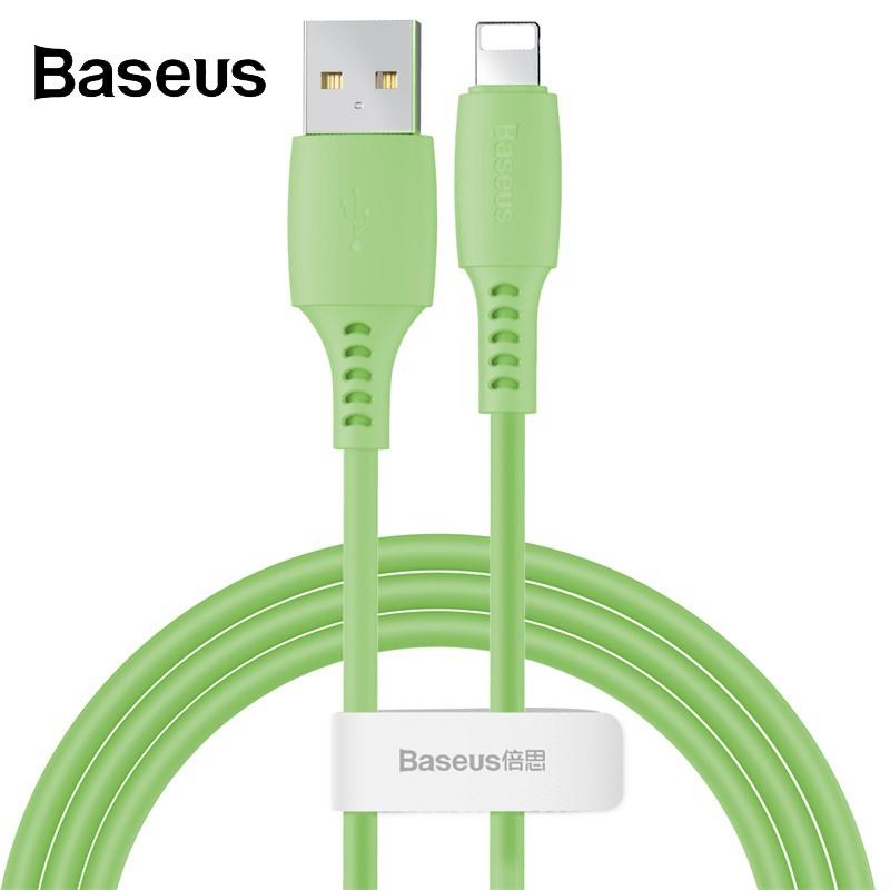 Dây Cáp Sạc Baseus 2.4A Dành Cho Điện Thoại iphone X Chuyên Dụng Nhiều Màu Kích Thước 1.2m
