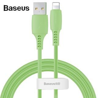 Dây Cáp Sạc Baseus 2.4A Chuyên Dụng Nhiều Màu Tuỳ Chọn Kích Thước 1.2m Dành Cho Điện Thoại iphone X