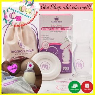 Cốc hứng sữa/ Hút sữa Mama's Choice 💝FREESHIP💝 Chất liệu silicon cao cấp [HÀNG CHÍNH HÃNG]