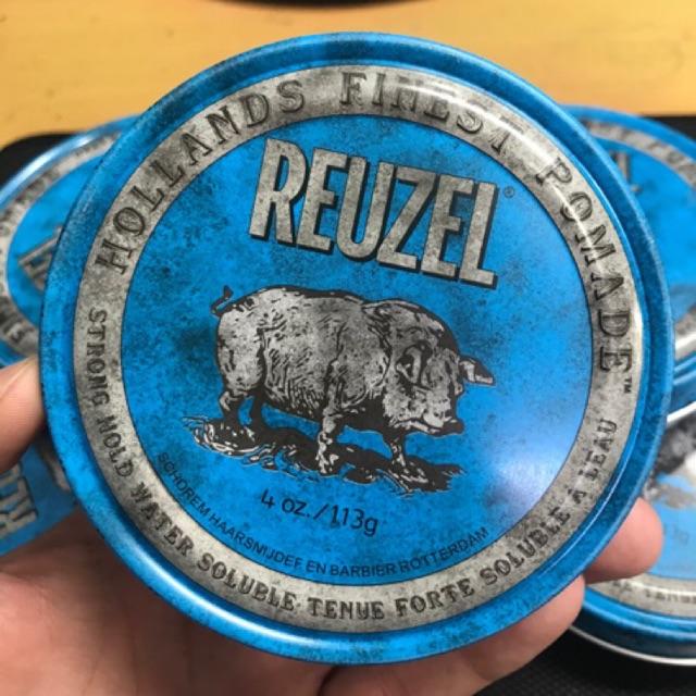 Sáp vuốt tóc cao cấp Pomade Reuzel Blue