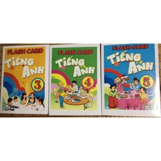 Flashcards Tiếng Anh lớp 4 BGD