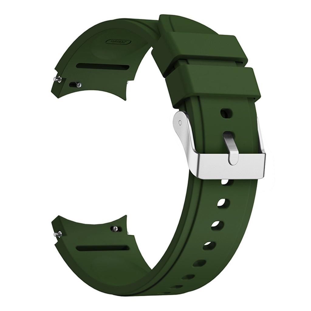 Dây đeo đồng hồ bằng Silicone 20mm cho Samsung Galaxy Watch 4 44MM
