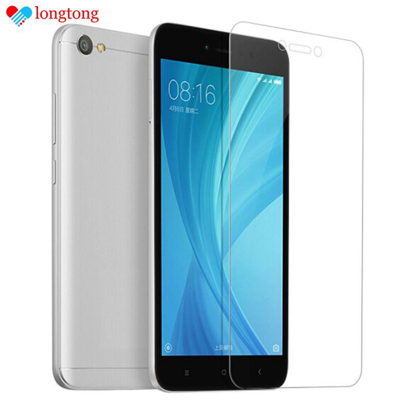 Screen Protector for Xiaomi Redmi Y1 Lite Shatter-proof Tempered Glass Film LONGTONG