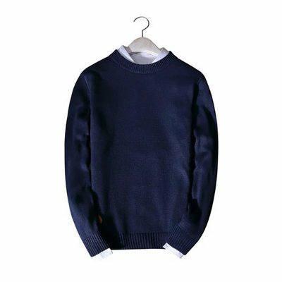 Áo len dài tay - Áo len cổ tròn phong cách cuốn hút